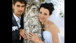 Yeni evlenen adamın karısını zenciler sikti